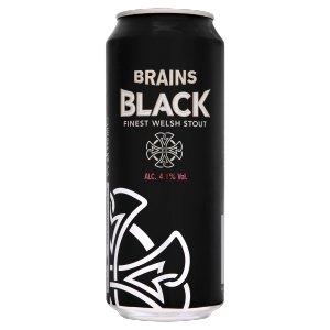Brains Black Welsh Stout